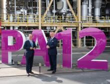 Einweihung der neuen Polyamid-12-Anlage am 8. Juli 2021 im Chemiepark Marl, NRW