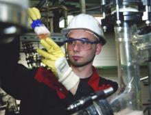 Lanxess produziert am Standort Bitterfeld Ionenaustauscher der Marke Lewatit zur Wasseraufbereitung
