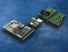 Platinenkameras mit Steckplätzen für modulare Schnittstellenerweiterungen