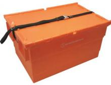 Durch die UN-Zertifizierung sind die Drehstapelbehälter von Schoeller Allibert für den Transport von Gütern mit geringem oder mittlerem Gefährdungsgrad zugelassen