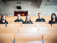 Das Siegerteam von der TU Clausthal kann sich über 2.000 Euro Preisgeld freuen