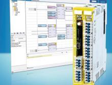 Benötigt in der Minimalvariante nur 25 mm Schaltschrankbreite: das modulare, freiprogrammierbare S-Dias Safety-System