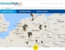 Neuer Internetauftritt der Chemieparks in Deutschland