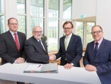Evonik wird im Chemiepark Marl ein neues hocheffizientes und modernes Gas- und Dampfturbinenkraftwerk errichten