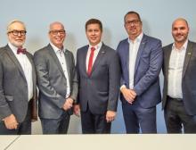 Vorstand des Deutschen Schüttgut-Industrie Verbandes