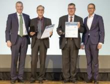 Wacker verleiht Innovationspreis für die Entwicklung neuartiger Bindemittel für Klebstoffe und Beschichtungen