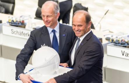 Vorstandswechsel bei BASF: Bock übergibt an Brudermüller